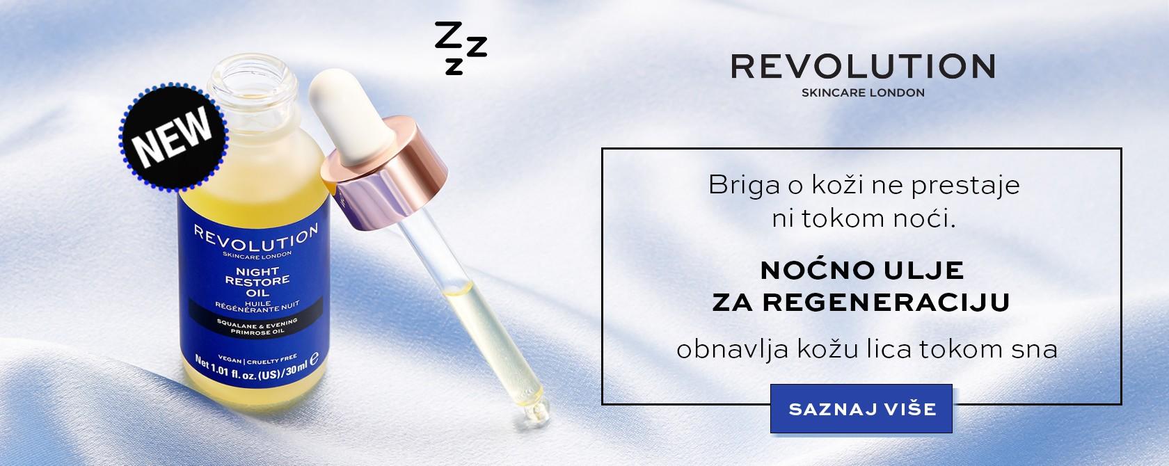 Revolution noćno ulje za regeneraciju