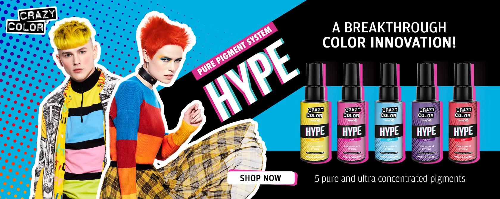 Hype color pigments