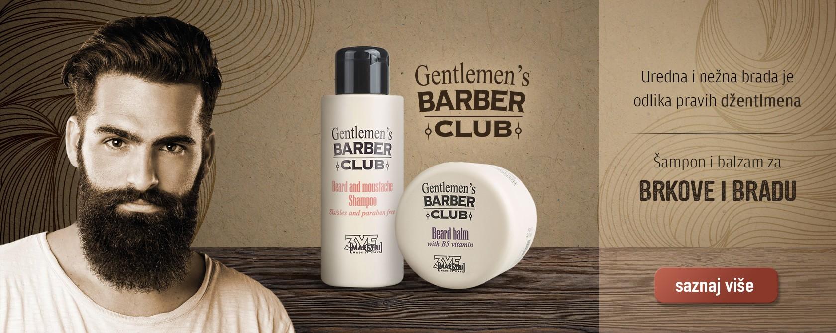 Barber sampon i balzam