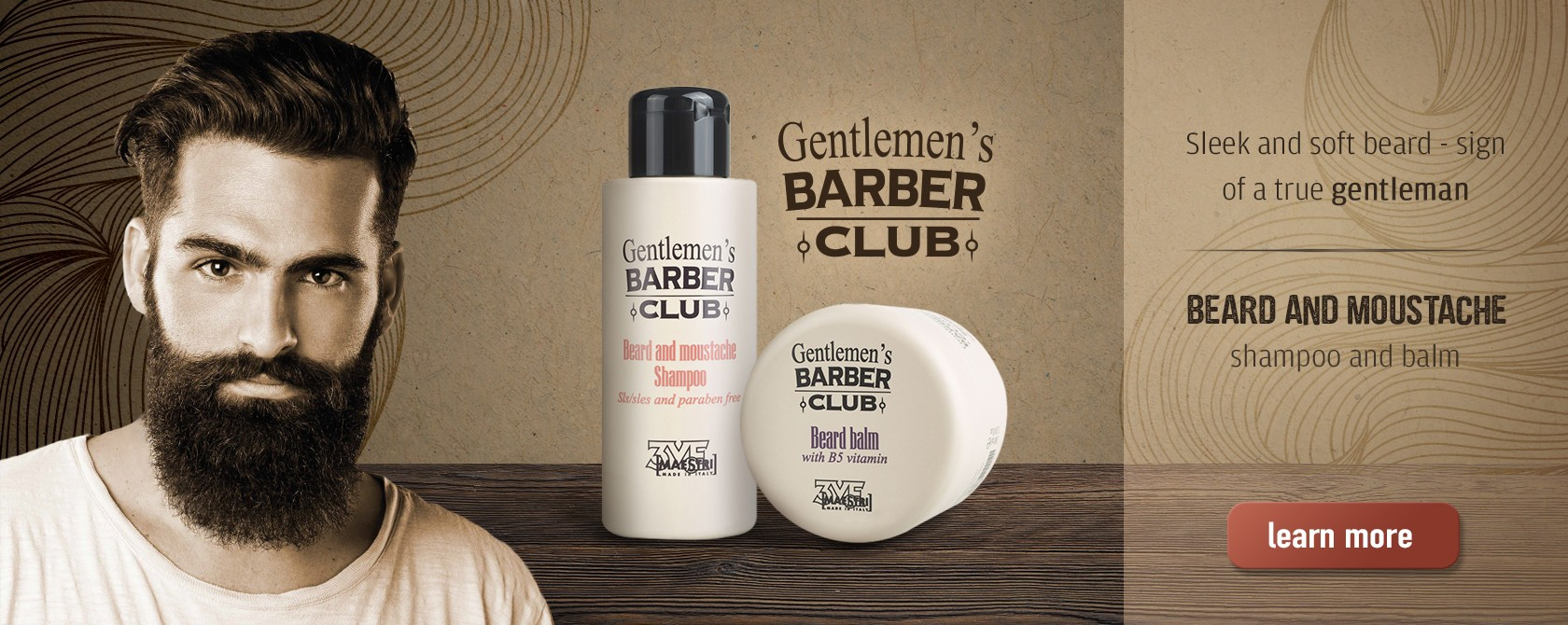 barbers club shampoo and balm