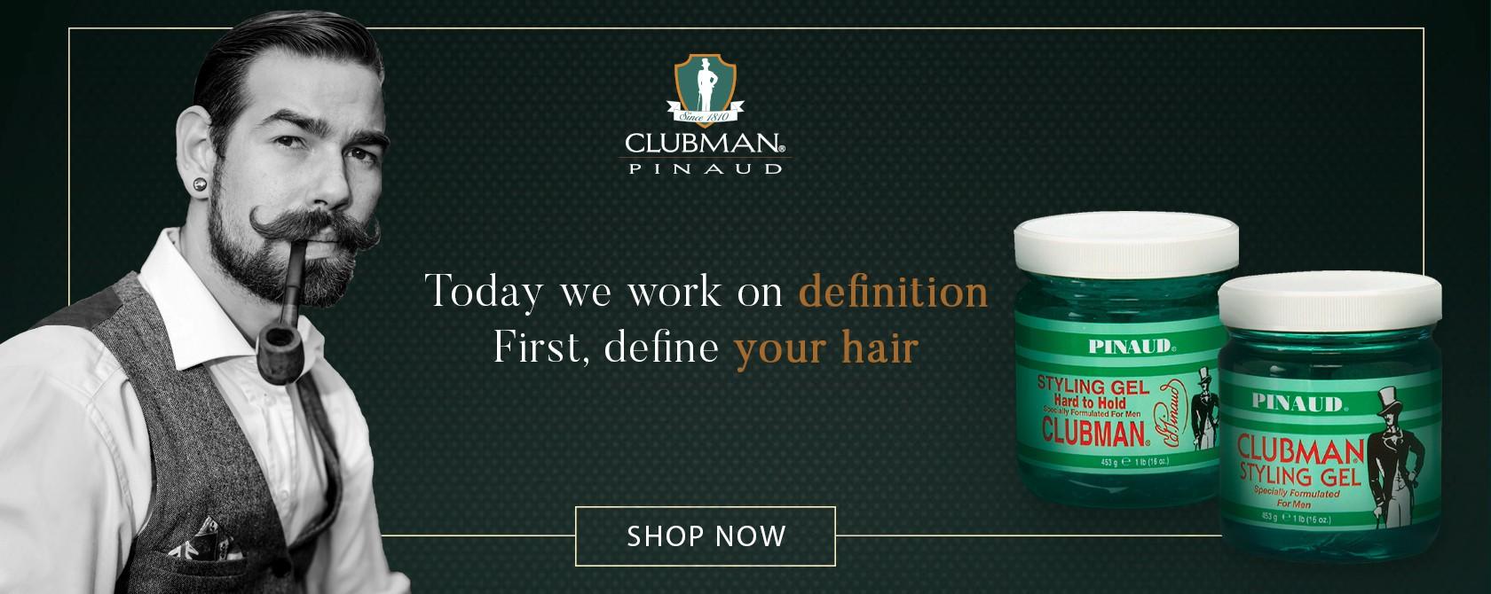 Clubman gelovi za kosu