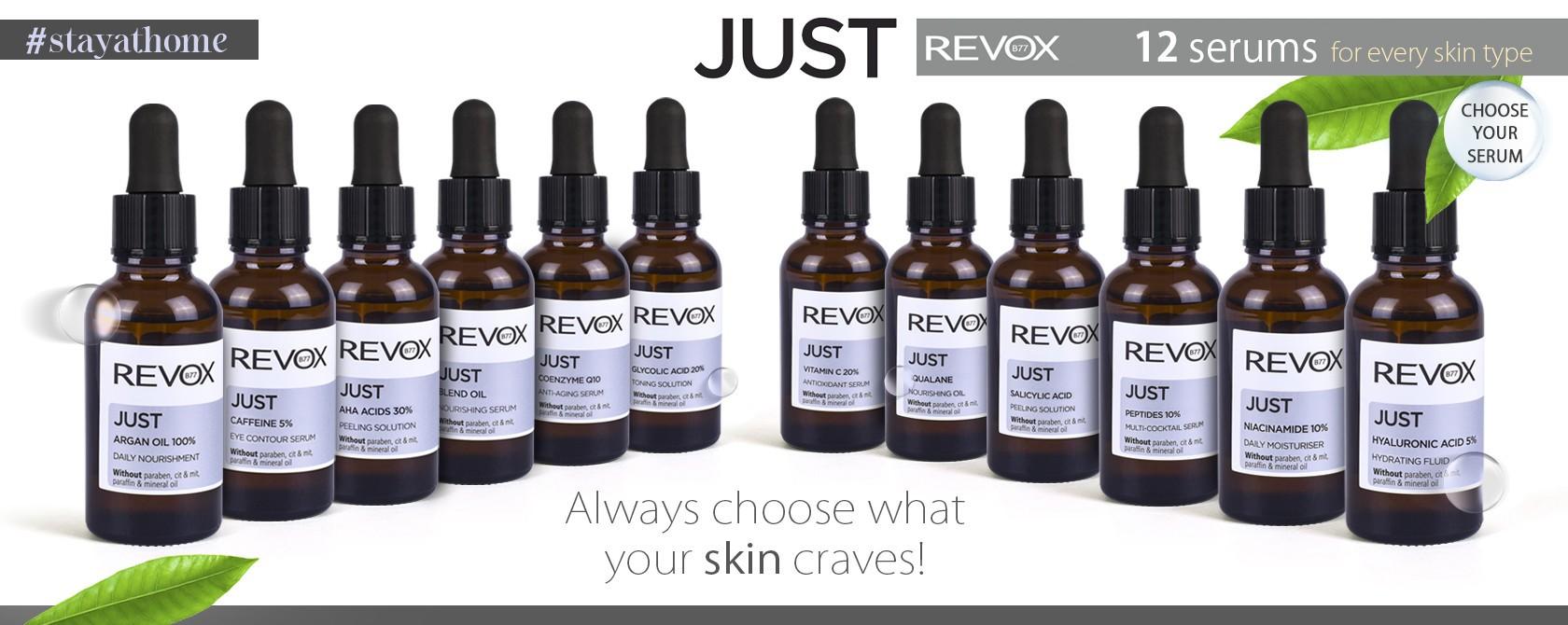 x Just Revox Serumi