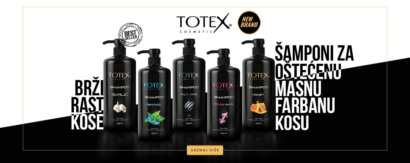 TOTEX šamponi