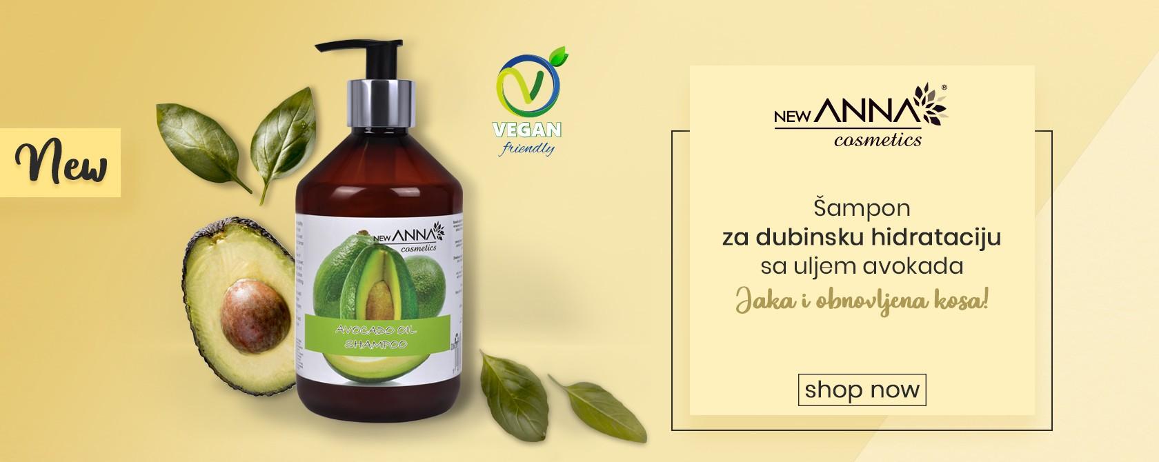 New Anna sampon avocado