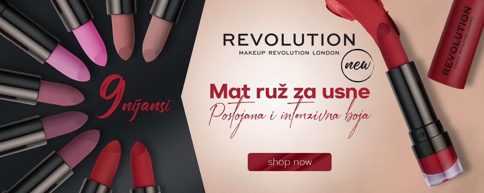 Revolution mat ruž