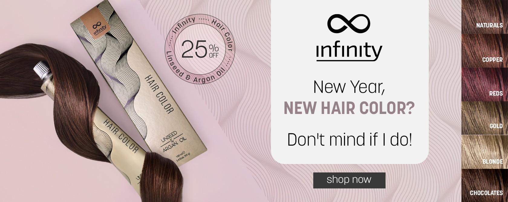 Infinity Farbe za kosu