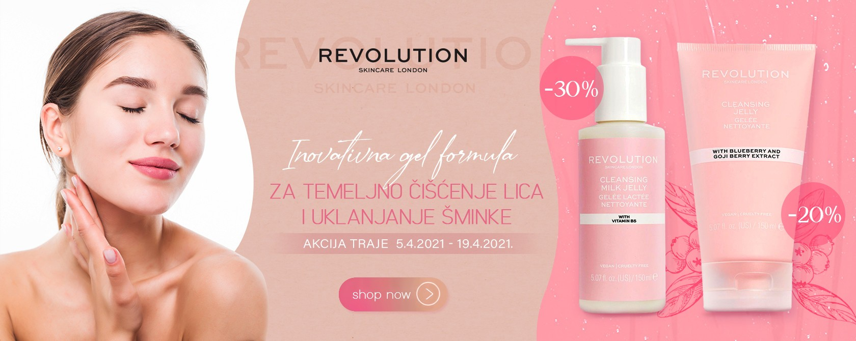 Revolution skincare proizvodi