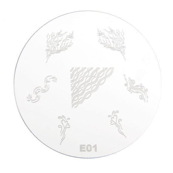 Šablon disk za pečate PMEO1 E01