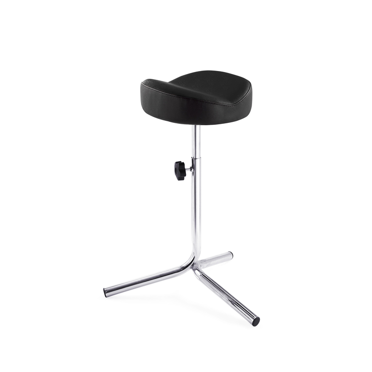 Foot holder for pedicure DP 3503 with adjustable height Black