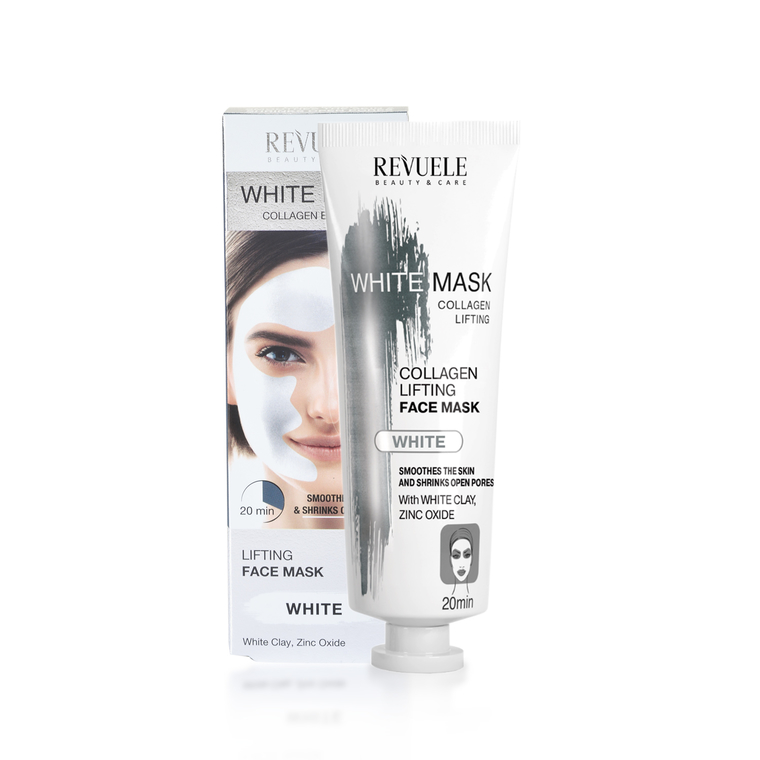 Lifting White Face Mask REVUELE Collagen Express 80ml
