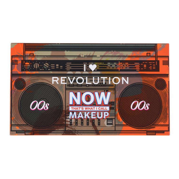 Paleta pigmenata za oči I HEART REVOLUTION 00s Now Thats What I Call Makeup 13.5g