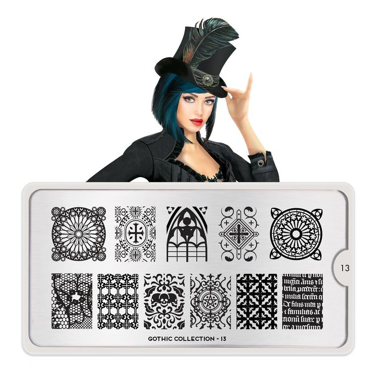 Šablon za pečate MOYOU Gothic 13