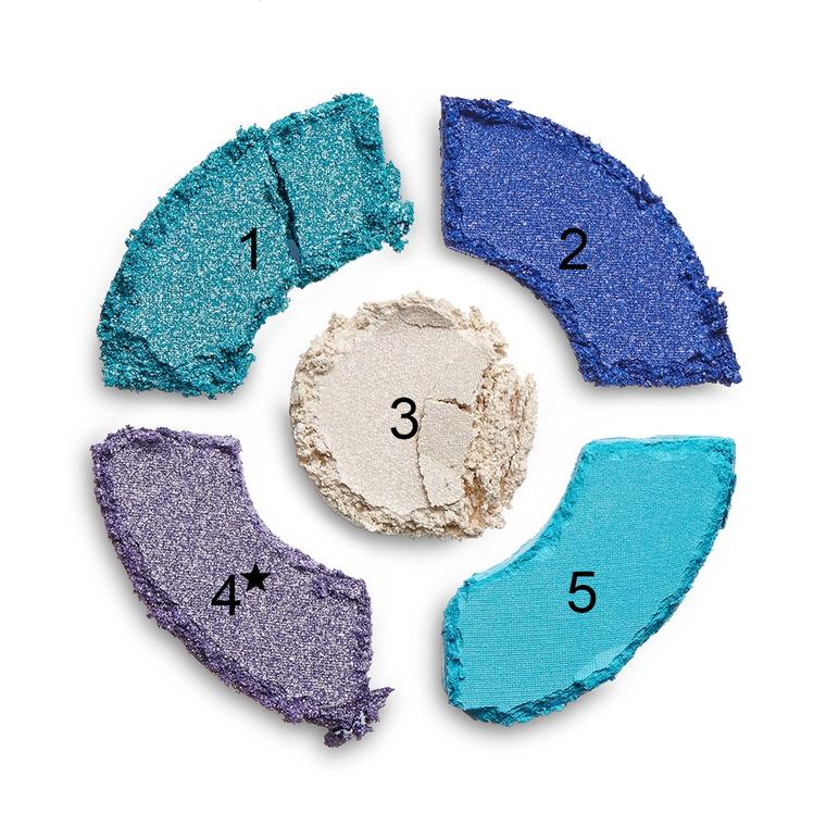 Paleta senki i pigmenata I HEART REVOLUTION Donuts Blueberry Crush 8.25g