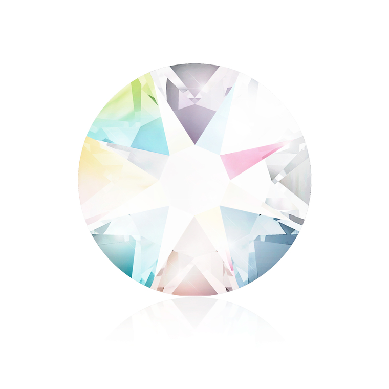Kristali za nokte SWAROVSKI A 2088 Xirius Rose  SS16 White Patina 20/1