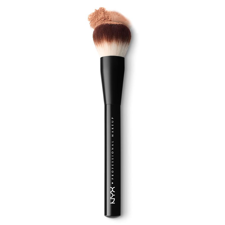 Četkica za puder NYX Professional Makeup PROB03 sintetička dlaka