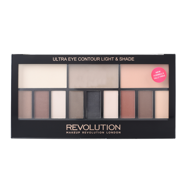 Paleta senki za oči REVOLUTION MAKEUP Ultra Eye Contour Light and Shade 14g