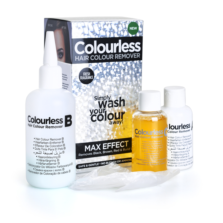 Hair Colour Remover COLOURLESS Max Effect 3x60ml