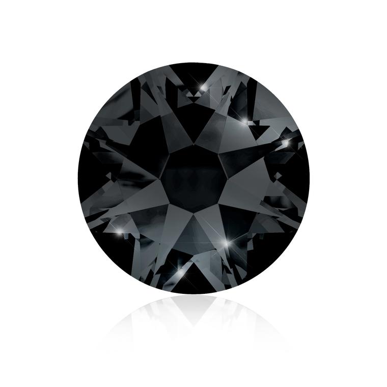 Kristali za nokte SWAROVSKI A 2088 XIRIUS Rose SS16 Jet 20/1