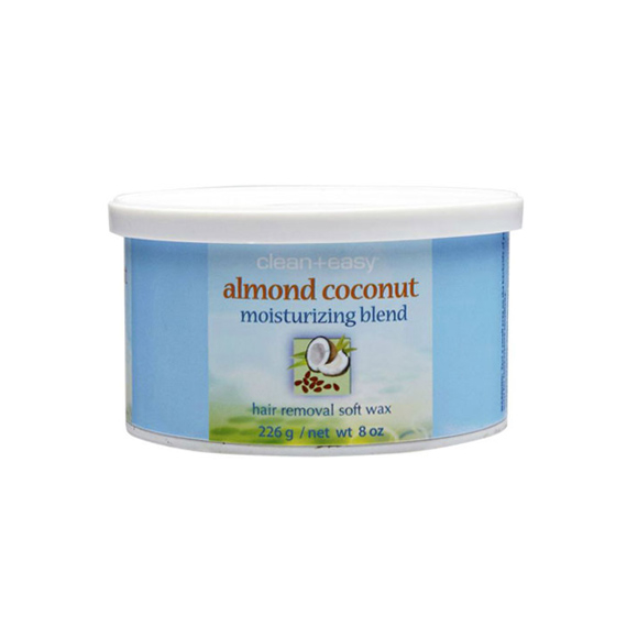 Vosak za depilaciju u limenci CLEAN EASY Badem i kokos 226g
