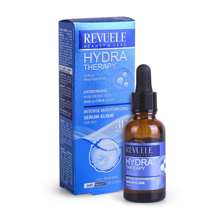 Serum za intenzivnu hidrataciju lica REVUELE Hydra Therapy 25ml