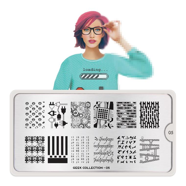 Šablon za pečate MOYOU Geek 05
