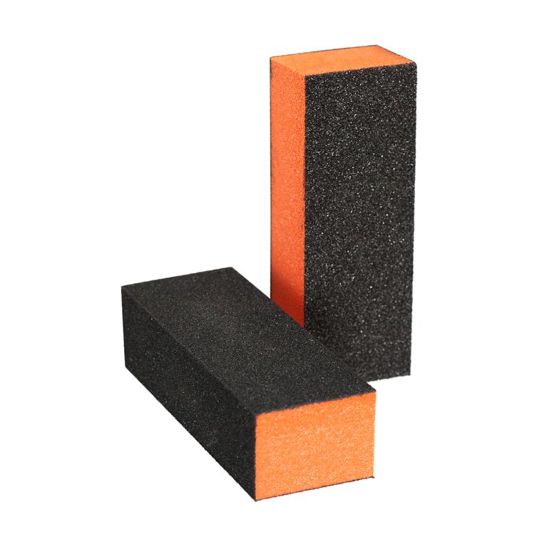 Block Nail File ENS Orange/Black 100/180/180