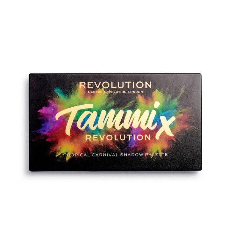 Paleta senki i pigmenata REVOLUTION MAKEUP Tammi Tropical Carnival 18g