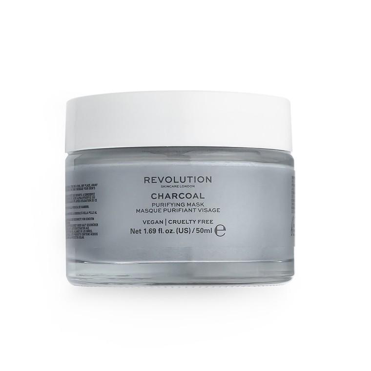 Maska na bazi aktivnog uglja za detoksikaciju kože lica REVOLUTION SKINCARE Charcoal 50ml