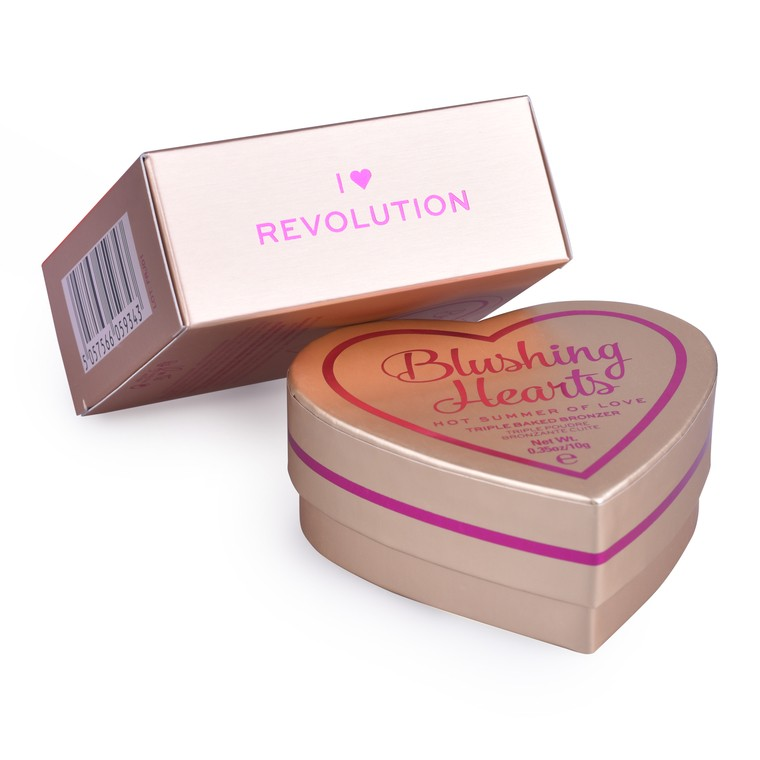 Bronzer I HEART REVOLUTION Bronzing Hearts Hot Summer of Love 10g