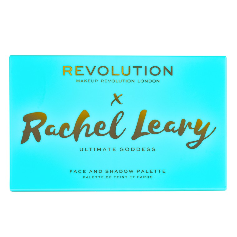 Paleta za šminkanje REVOLUTION MAKEUP X Rachel Leary Ultimate Goddess 35.3g