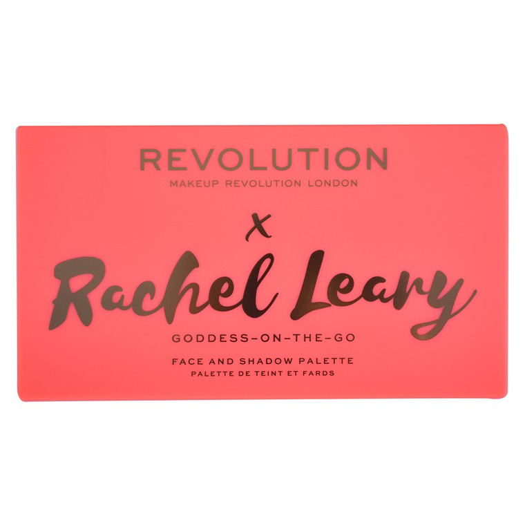Paleta za šminkanje REVOLUTION MAKEUP X Rachel Leary Goddess On the Go 20.8g