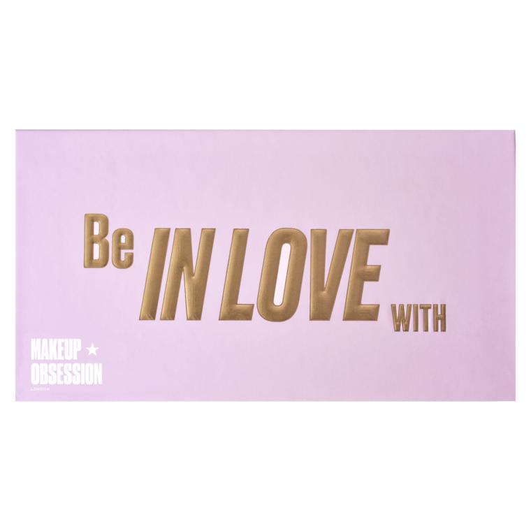 Paleta pigmenata za oči MAKEUP OBSESSION Be In Love With 13g