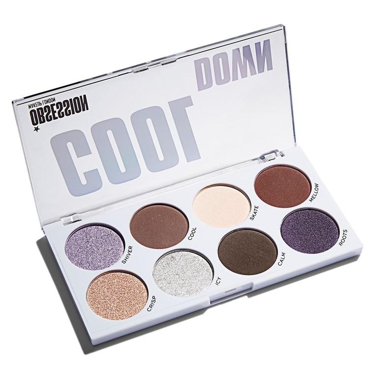 Paleta senki za oči MAKEUP OBSESSION Cool Down 12.8g