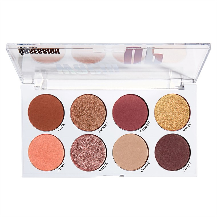 Paleta senki i pigmenata MAKEUP OBSESSION Warm Up 12.8g