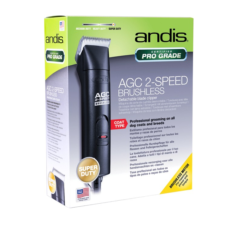 Mašinica za šišanje pasa ANDIS AGCB Brushless sa dve brzine