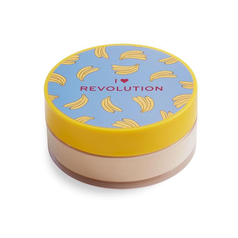 Puder u prahu za lice I HEART REVOLUTION Banana 22g