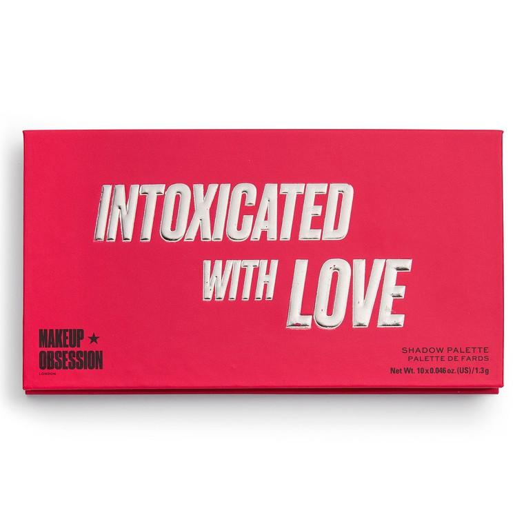 Paleta senki i pigmenata MAKEUP OBSESSION Intoxicated with Love 13g