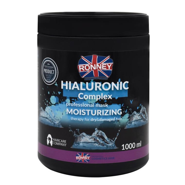 Maska za hidrataciju suve i oštećene kose RONNEY Hialuronic Complex 1000ml