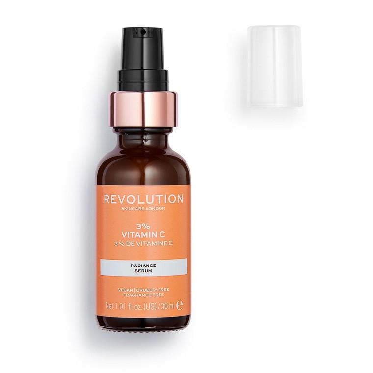 Serum za revitalizaciju kože REVOLUTION SKINCARE 3% Vitamin C 30ml