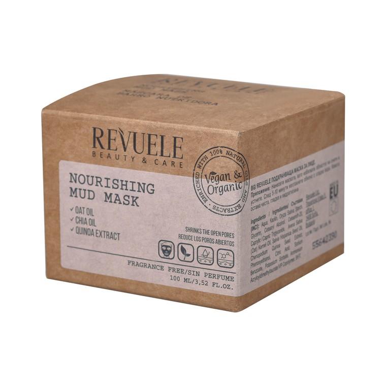 Hranljiva maska za lice REVUELE Vegan&Organic 100ml
