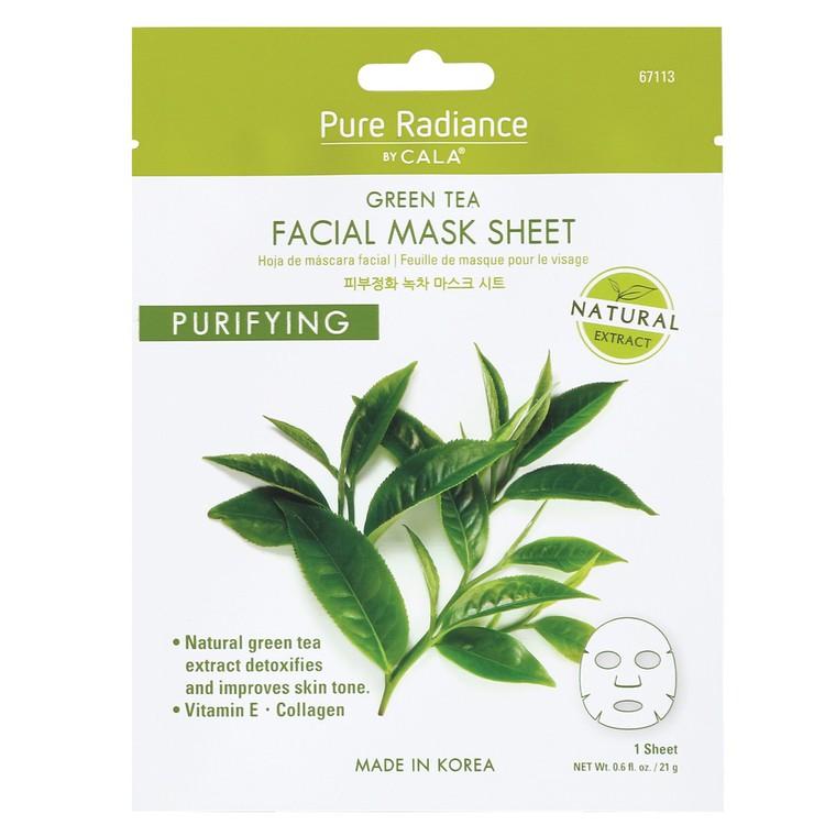 Korejska sheet maska za detoksikaciju lica sa ekstraktom zelenog čaja CALA Purifying 21g