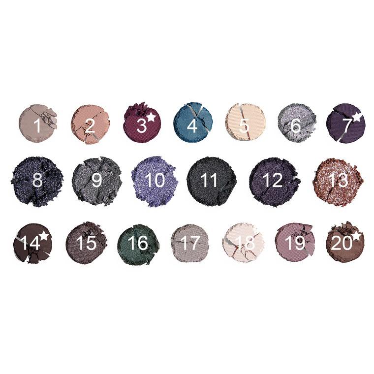Paleta senki i pigmenata REVOLUTION MAKEUP Precious Stone Amethyst 16.9g