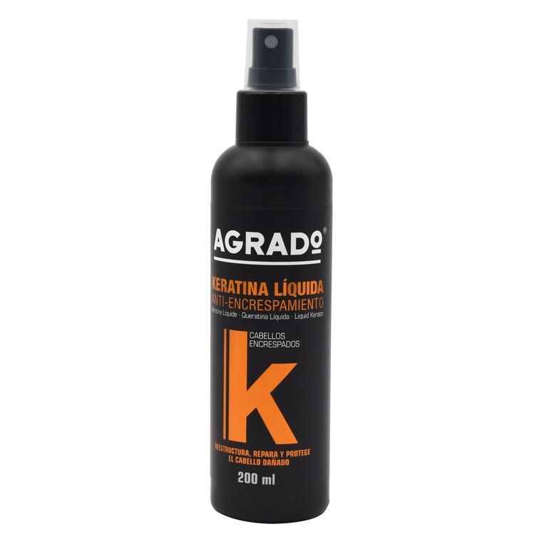 Losion u spreju za neposlušnu kosu AGRADO Keratin 200ml
