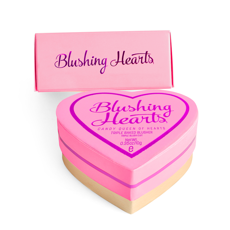 Rumenilo I HEART REVOLUTION Blushing Hearts Candy Queen of Hearts 10g