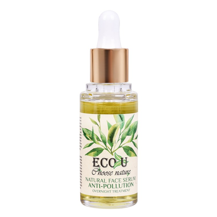 Overnight Natural Face Serum ECO U Anti-Pollution 30ml