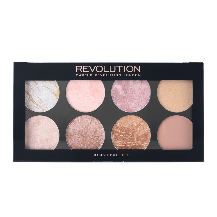 Paleta rumenila, bronzera i hajlajtera REVOLUTION MAKEUP Ultra Blush Golden Sugar 13g