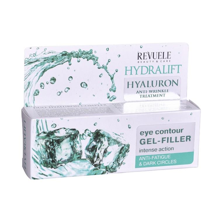 Gel-Filler za predeo oko očiju REVUELE Hydralift Hyaluron 25ml