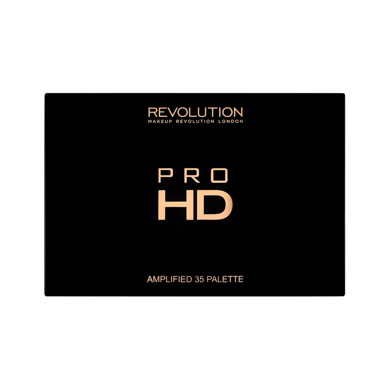 Paleta senki za oči REVOLUTION MAKEUP Pro HD Amplified 35 Neutrals Warm 30g