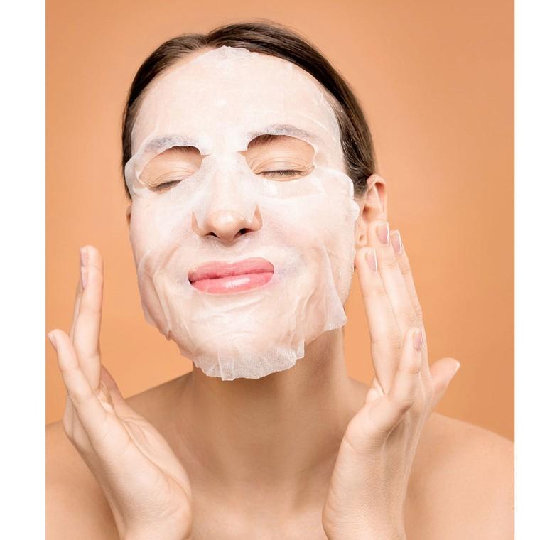 Korejska sheet maska se ekstraktom nara za elastičnost kože lica DERMAL Encyclopedia Elastic 25g