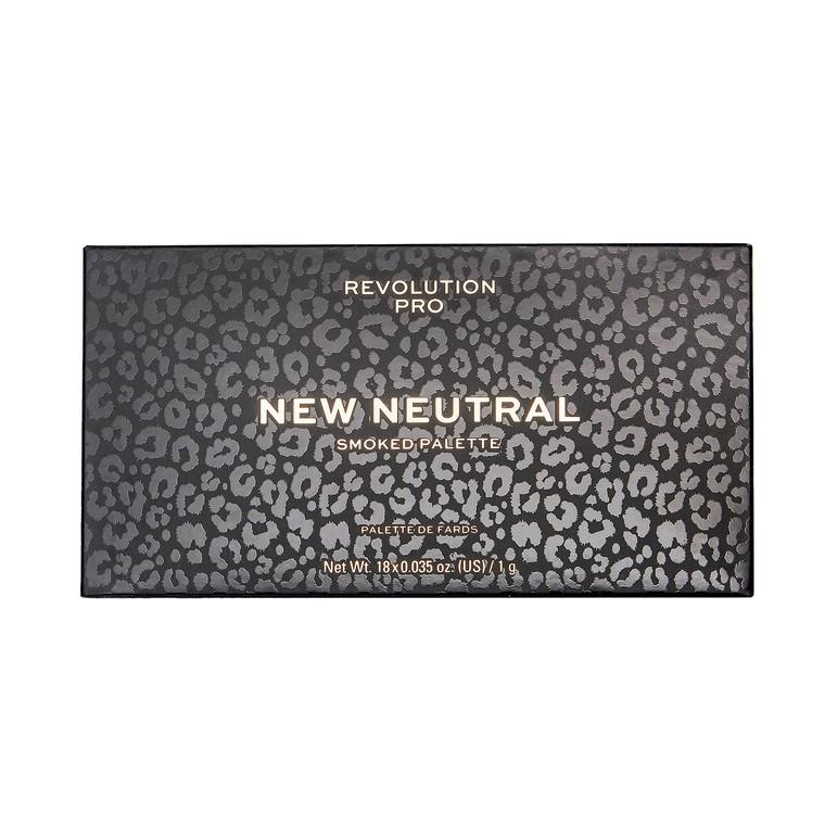 Paleta senki i pigmenata REVOLUTION PRO New Neutral Smoked 18g